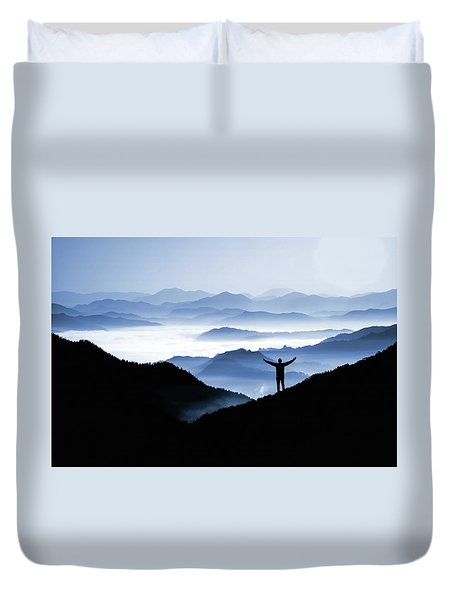 Adoration Of Natural Beauty Duvet Cover