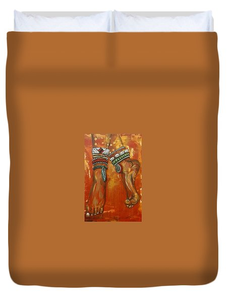 Adornment Duvet Cover by Jenny Pickens