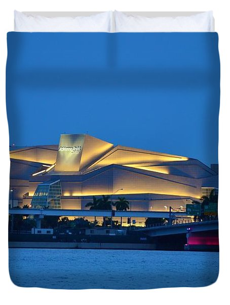 Adrienne Arsht Center 2 Duvet Cover