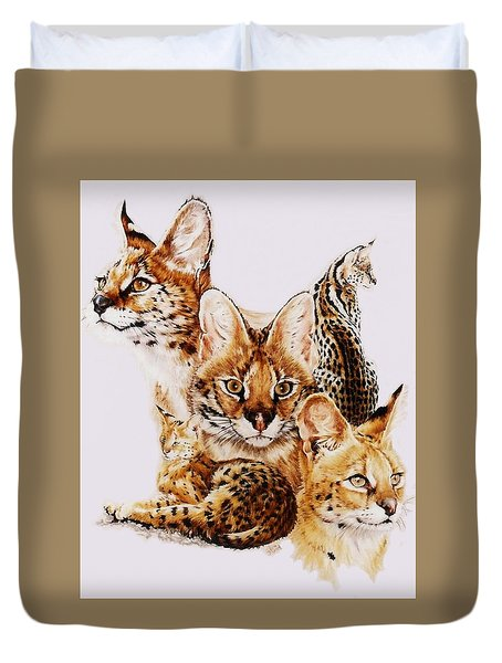 Adroit Duvet Cover by Barbara Keith
