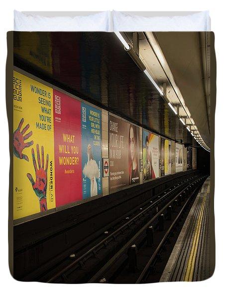 Ads Underground Duvet Cover