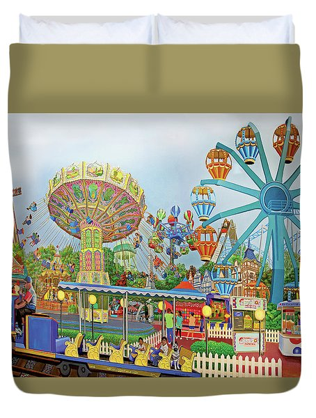 Adventureland Duvet Cover