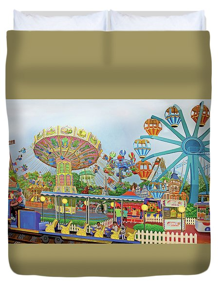 Adventureland Towel Version Duvet Cover