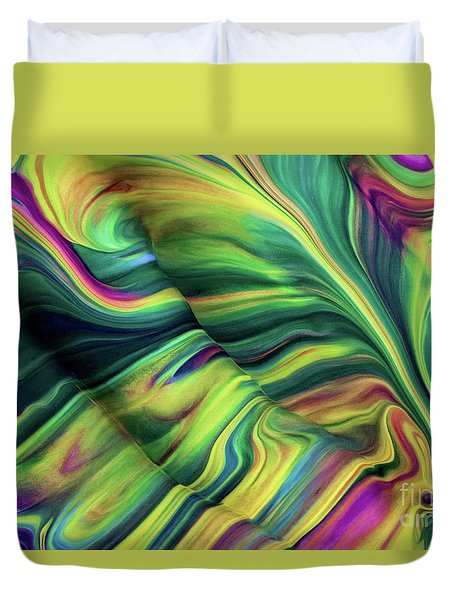 Aegean Wave Duvet Cover