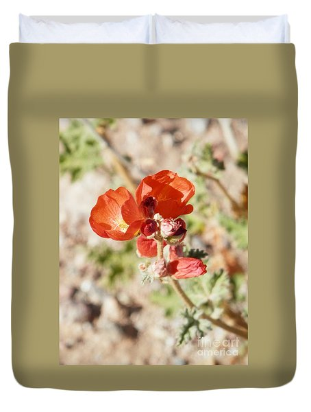 Aeon In Red Duvet Cover