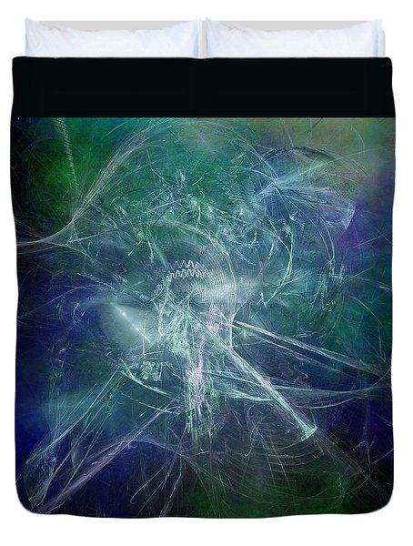 Aeon Of The Celestials Duvet Cover