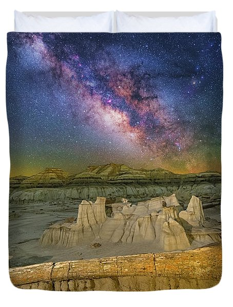 Aeons Of Time Duvet Cover