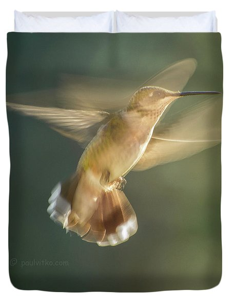 Aerial Dancing.... Duvet Cover