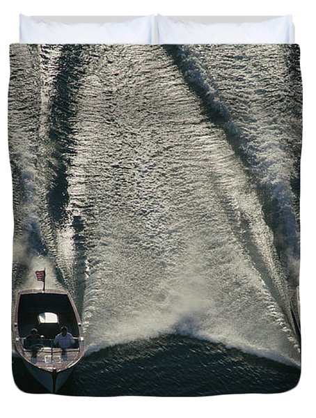 Aerial Wash Duvet Cover