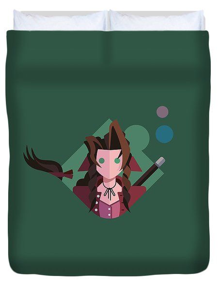 Aeris Duvet Cover by Michael Myers
