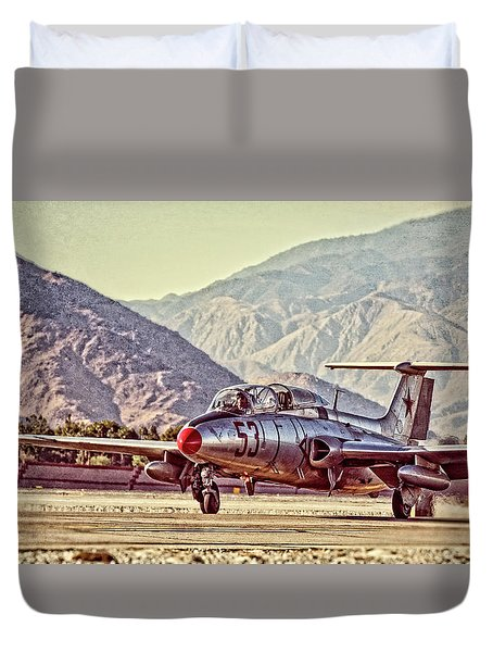 Aero L-29 Delfin Duvet Cover