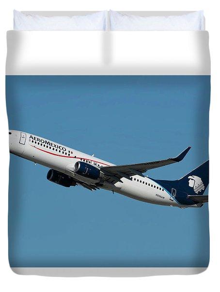 Aeromexico Boeing 737-800 Duvet Cover