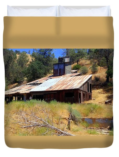 Affordable Housing Kern County Duvet Cover