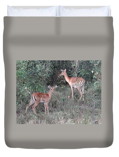 Africa - Animals In The Wild 2 Duvet Cover