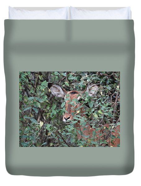 Africa - Animals In The Wild 4 Duvet Cover