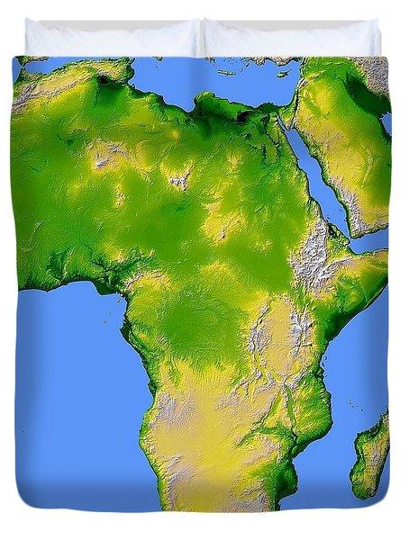 Africa Duvet Cover