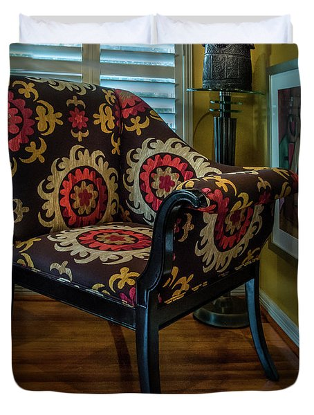 African Accent Furniture Duvet Cover