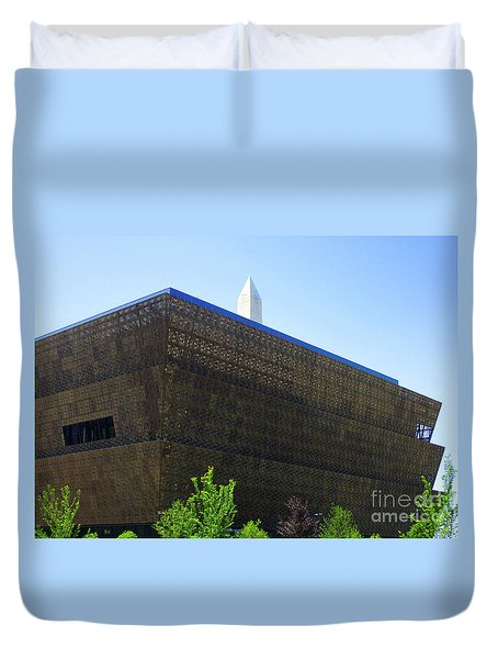 African American History And Culture 1 Duvet Cover by Randall Weidner