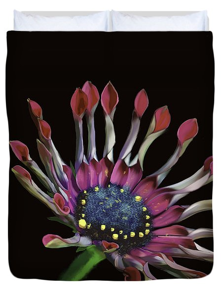 African Daisy Duvet Cover