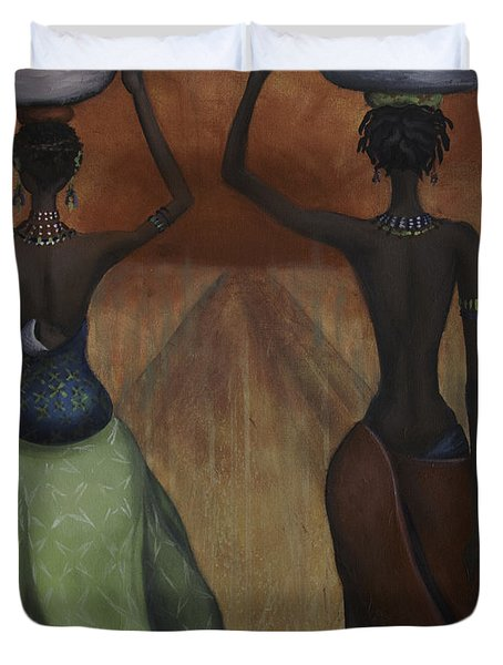 African Desires Duvet Cover