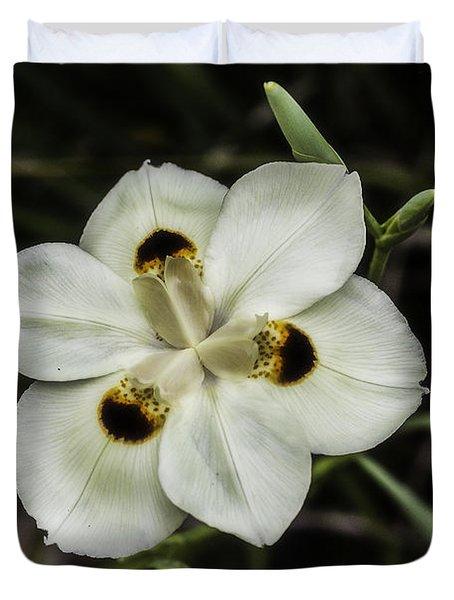 African Iris Duvet Cover