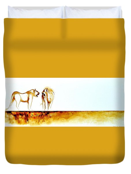 African Marriage - Original Artwork Duvet Cover