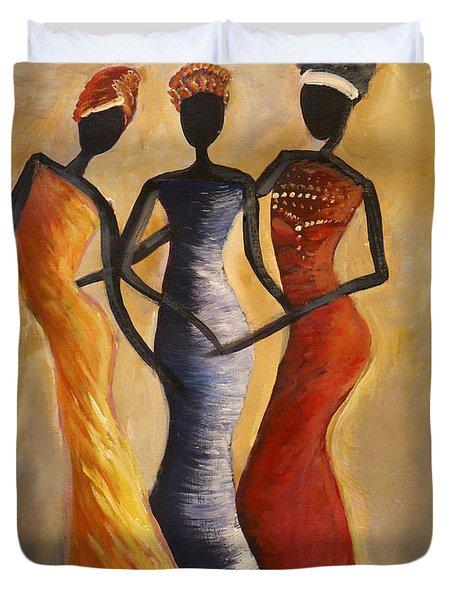 African Queens Duvet Cover