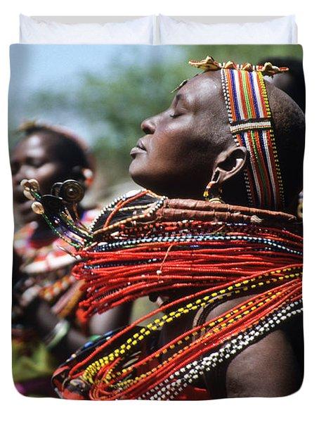 African Rhythm Duvet Cover