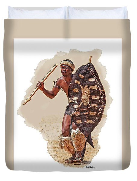 African Tribal Traditions 1 Duvet Cover