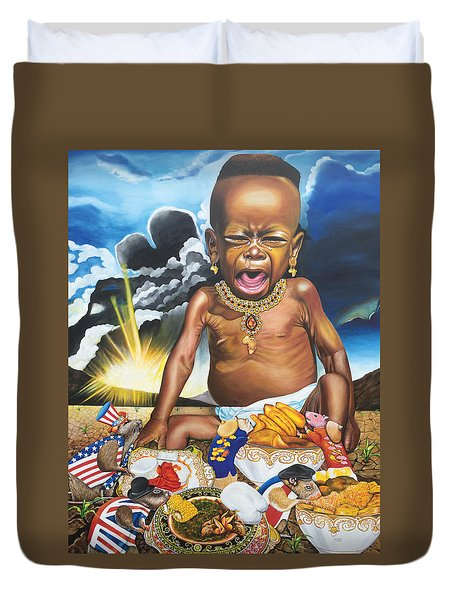 African't Duvet Cover