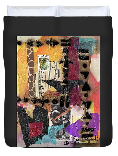 Afro Collage - I Duvet Cover