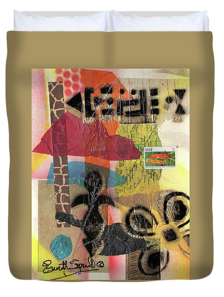 Afro Collage - -l Duvet Cover