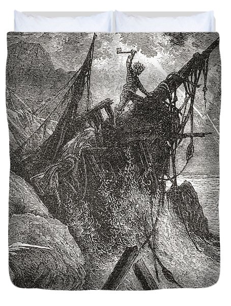 After An Original Work By Gustave Dore Duvet Cover