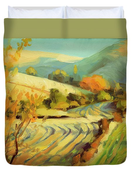 After Harvest Duvet Cover