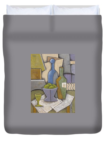 After Hours Duvet Cover by Trish Toro
