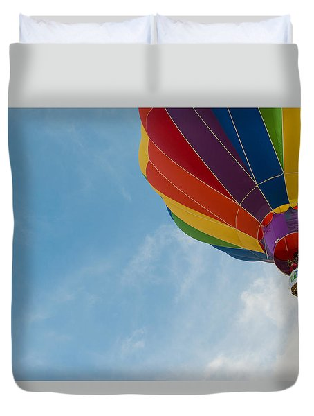 After Liftoff Duvet Cover