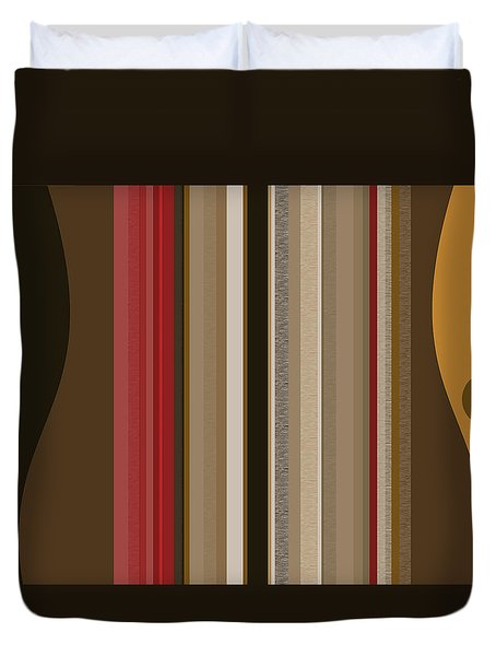 After Midnight Duvet Cover