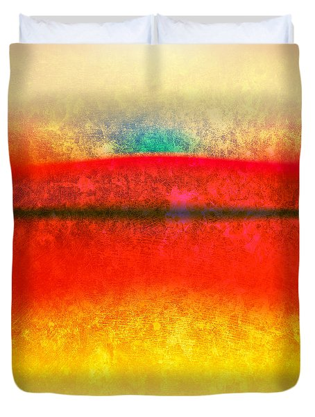After Rothko 8 Duvet Cover