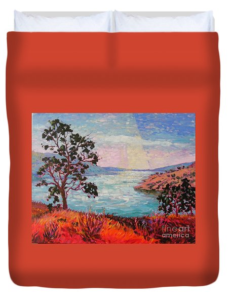 After Sunrise Duvet Cover