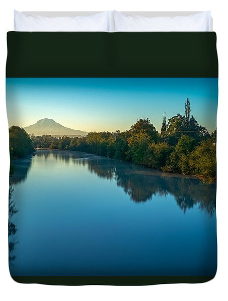 After Sunrise Duvet Cover by Ken Stanback