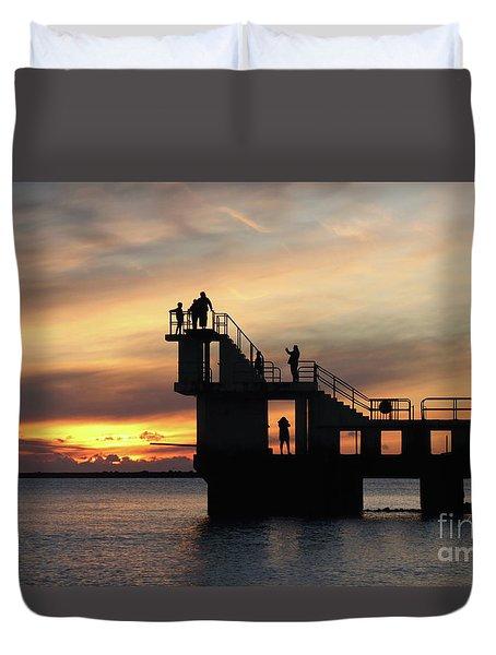 After Sunset Blackrock 5 Duvet Cover