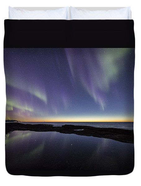 After Sunset Iv Duvet Cover