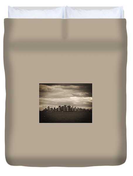 After The Attack Duvet Cover