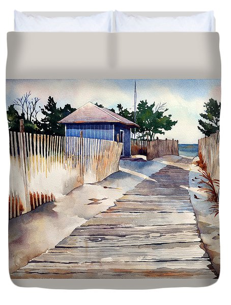 After The Boys Of Summer Duvet Cover