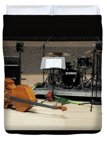 After The Concert Duvet Cover