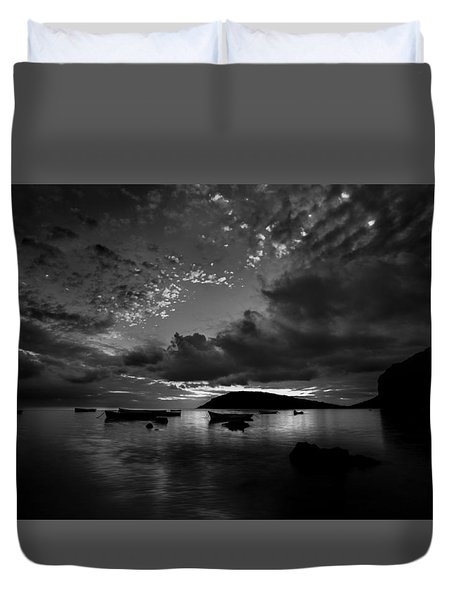 After The Day The Night Shall Come Duvet Cover
