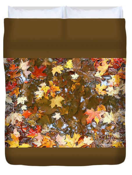 After The Fall Duvet Cover