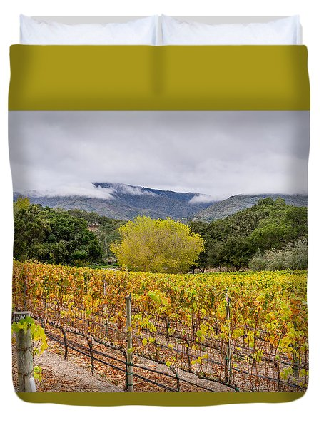 After The Harvest Duvet Cover by Derek Dean