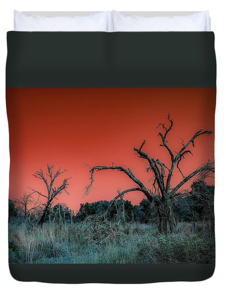 After The Hurricane Wars Duvet Cover