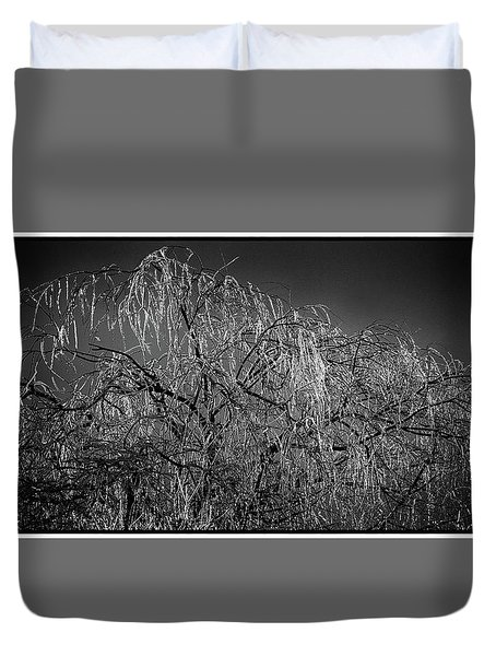 After The Ice Storm Duvet Cover
